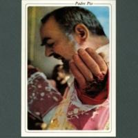 Padre Pio postcard