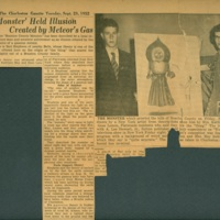 Flatwoods Monster Newspaper Clipping