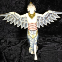 Indonesian Guardian Angel carving