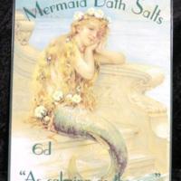 Mermaid Bath Salts sign