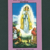 Fatima novena, purple