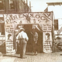 Phrenology Booth photograph