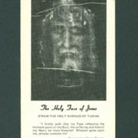 Shroud of Turin leaflet