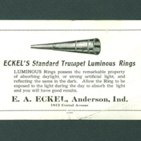 Eckel's Standard Trumpet Luminous Rings advertisement