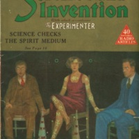 Science and Invention magazine, Spirit Trumpets issue