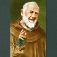 Padre Pio devotional card