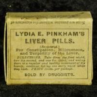 Lydia E. Pinkham's Liver Pills box