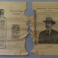 Clark Stanley Snake Oil Liniment advertising pamphlet
