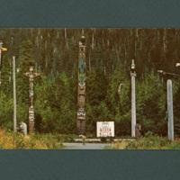 Totem Pole postcard